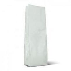 Пакет без печати с клапаном р-р 120х70х400  белый матовый 1000гр.