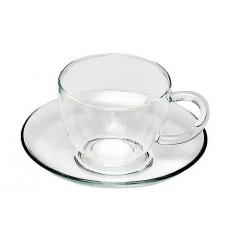 """Чашка с блюдцем """"Каролина"""""""
